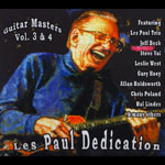 Les Paul Dedication for Guitar Masters Vol 3 & 4